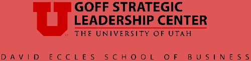 Goff Strategic Leadership Center Logo
